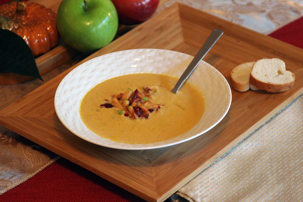 Dýňová chilli polévka