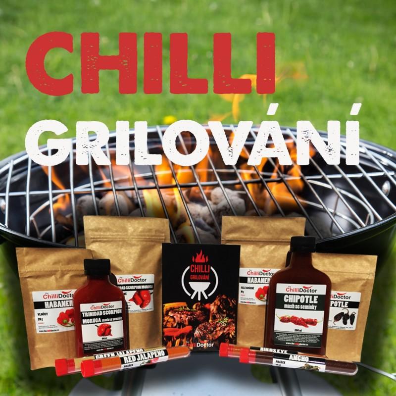 Grilovací chilli balíček-kniha