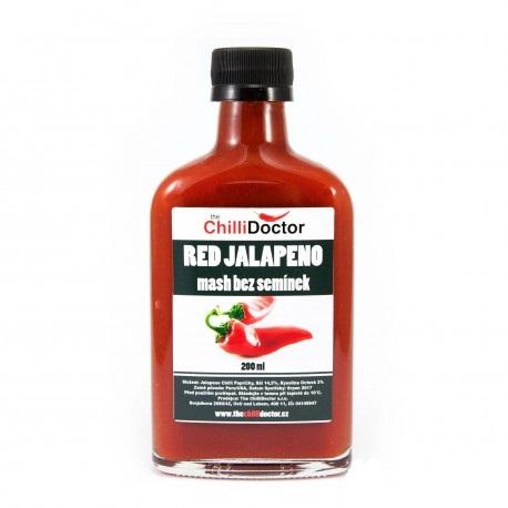 Red Jalapeno mash bez semínek 200ml